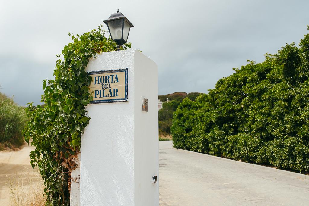 entrance to horta del pilar