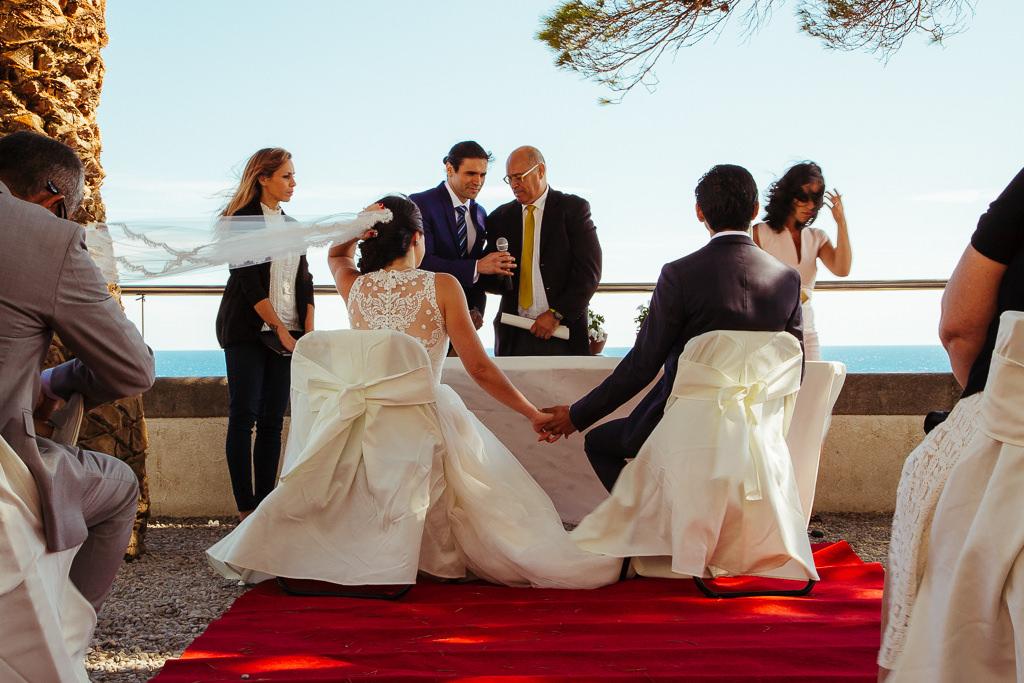 wedding far de tossa de mar