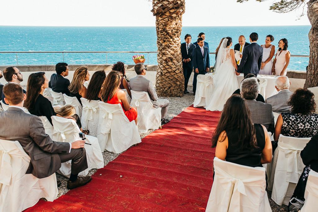 documentary wedding photo far de tossa de mar costa brava