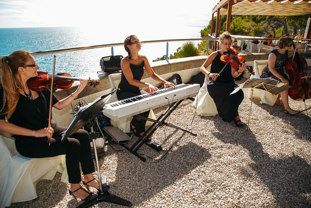 musicians wedding costa brava