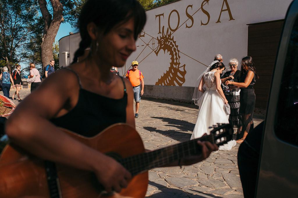 documentary wedding at tossa de mar