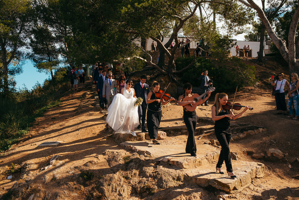 beautiful documentary wedding shot costa brava girona