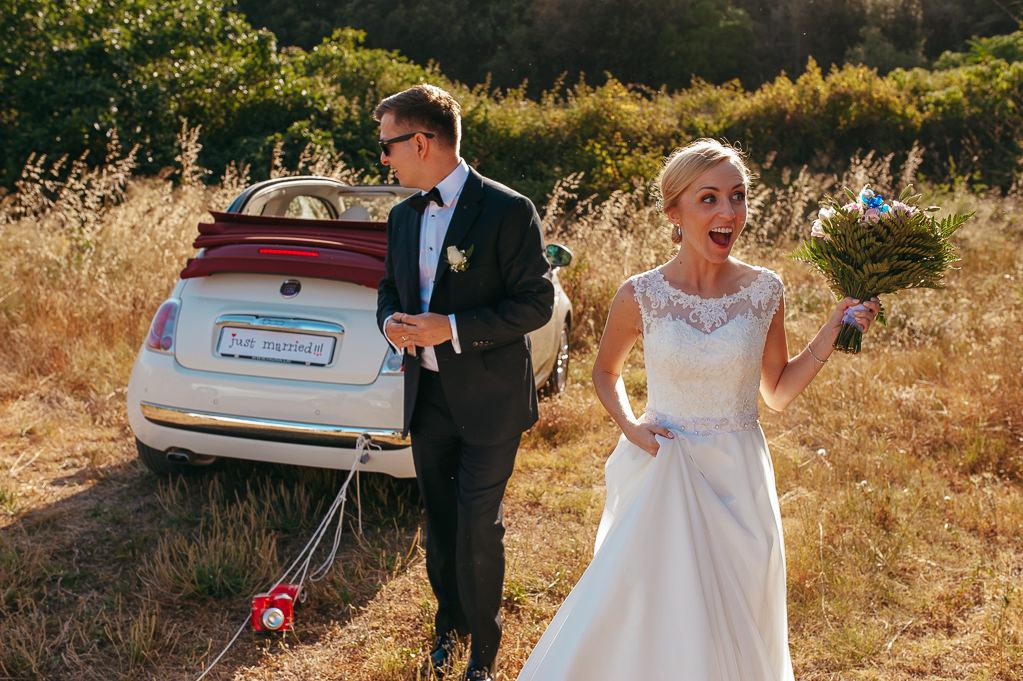 just married couple wedding photography costa brava