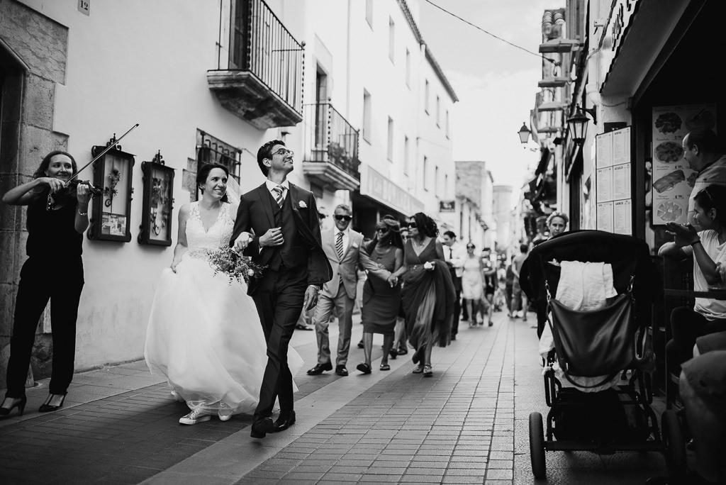best documentary wedding photo tossa de mar costa brava girona