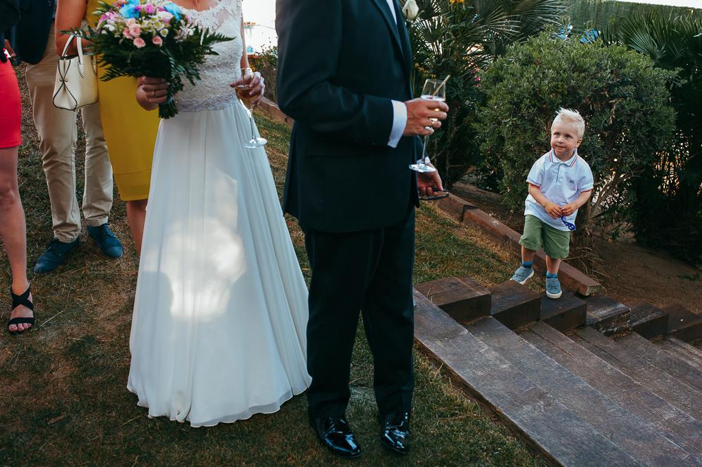 kids at weddings photography girona