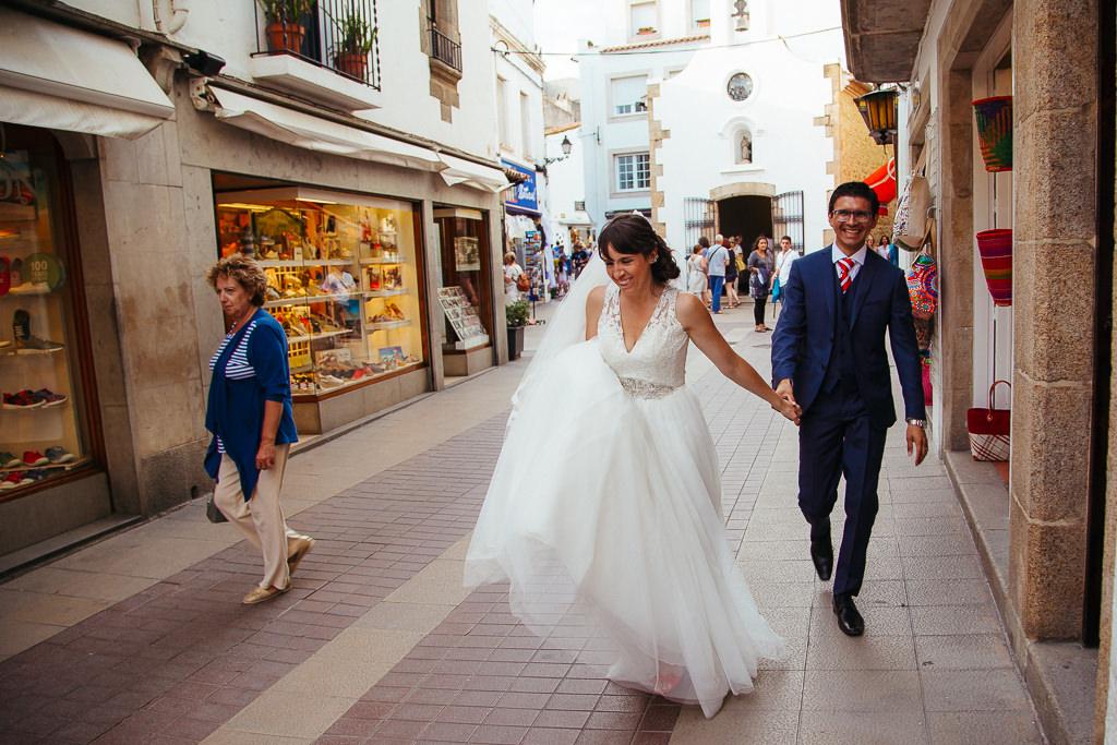 tossa de mar documentary photo wedding
