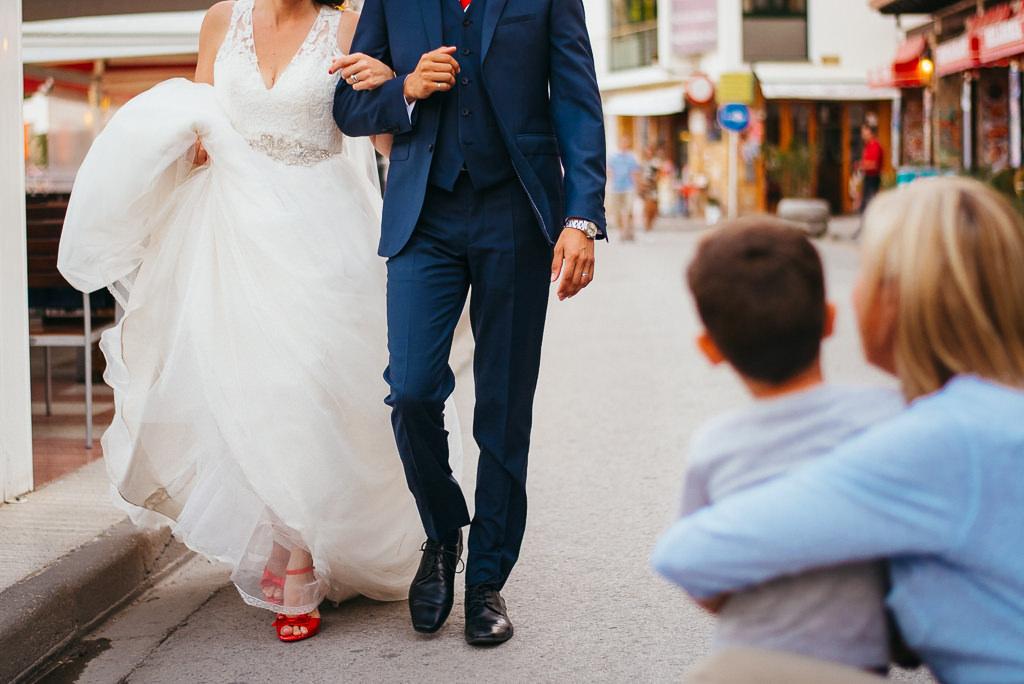 documentary photo wedding tossa de mar costa brava