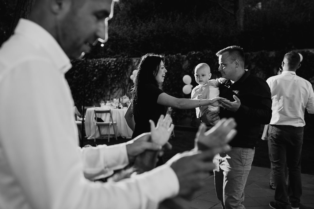 family at a wedding girona