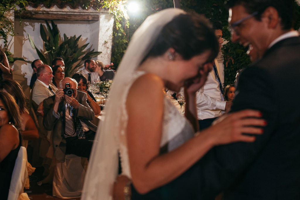 beautiful and romantic documentary photo wedding costa brava
