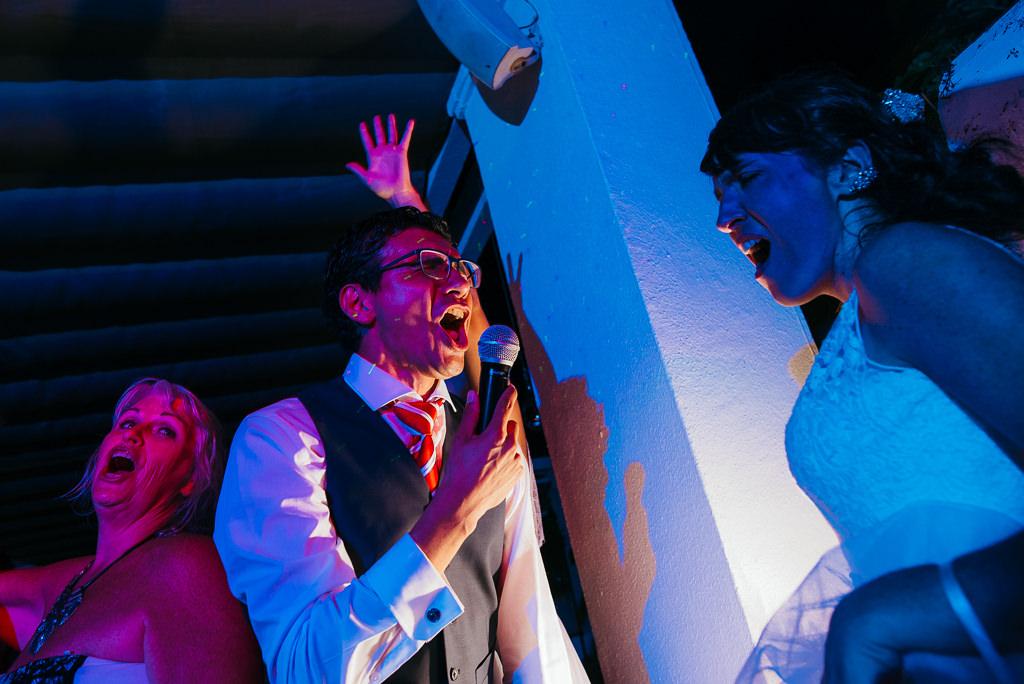 crazy fun wedding party hotel diana tossa de mar girona