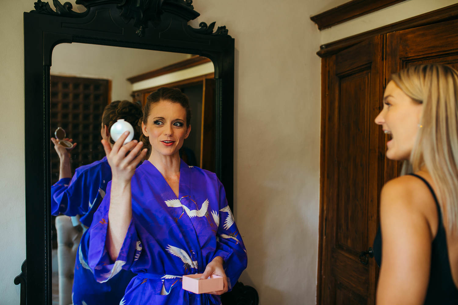 bridal preparation wedding villa catalina sitges