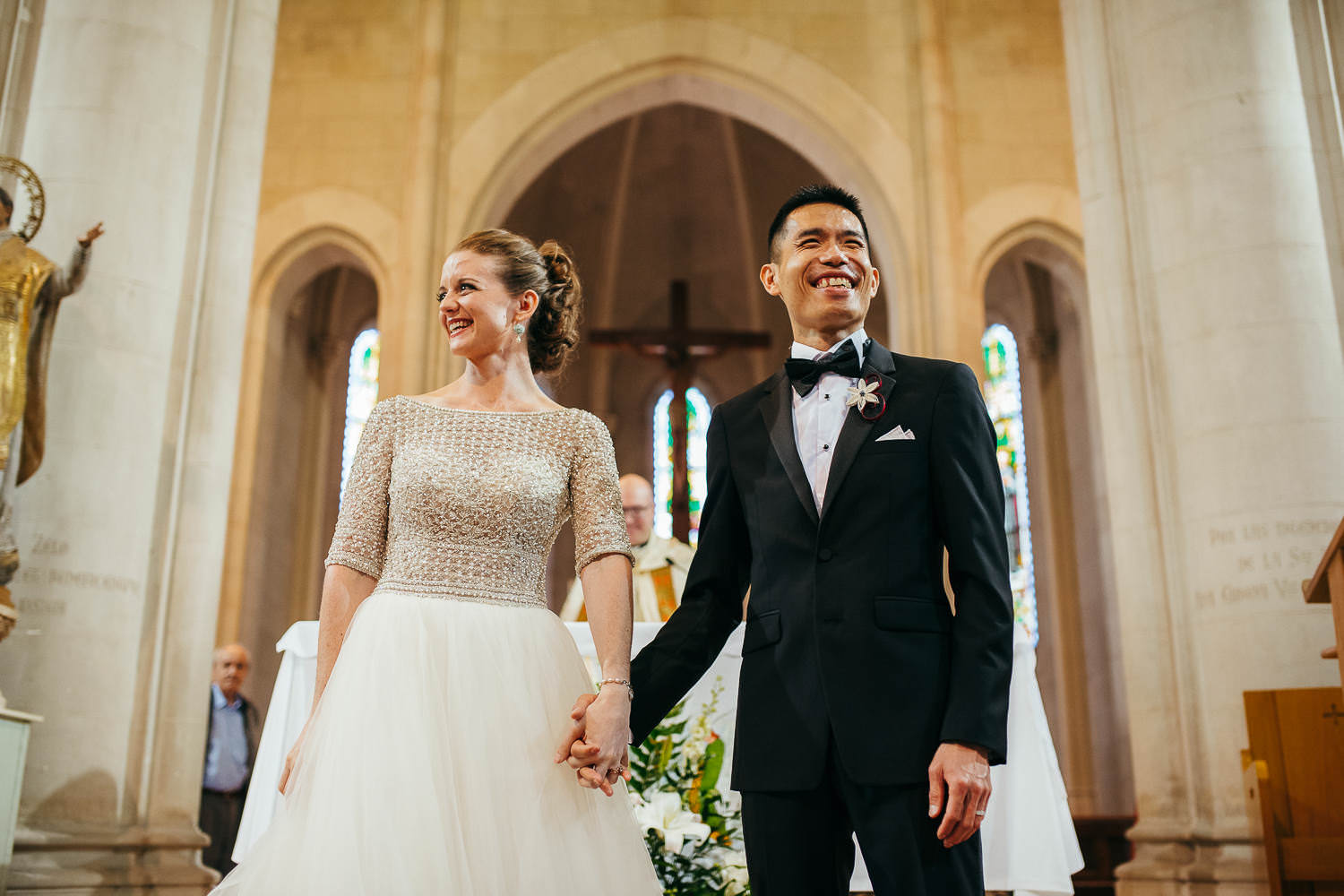 Wedding photographer Barcelona Tibidabo Church