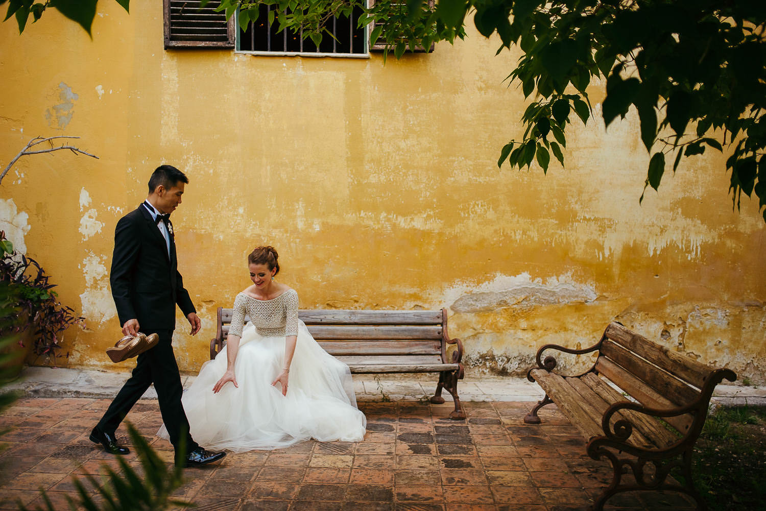 Barcelona documentary wedding photographer