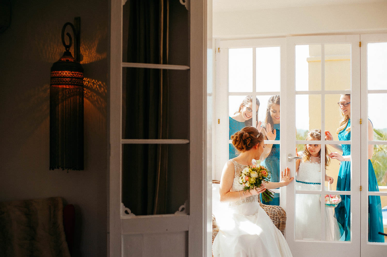 beautiful documentary photo wedding sitges