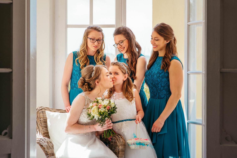documentary wedding bride's maids vila casanova sitges