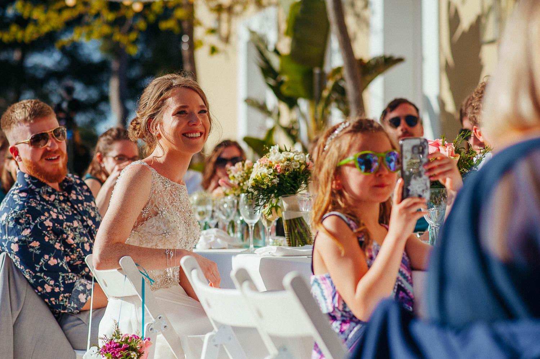 emotional bride wedding photography sitges