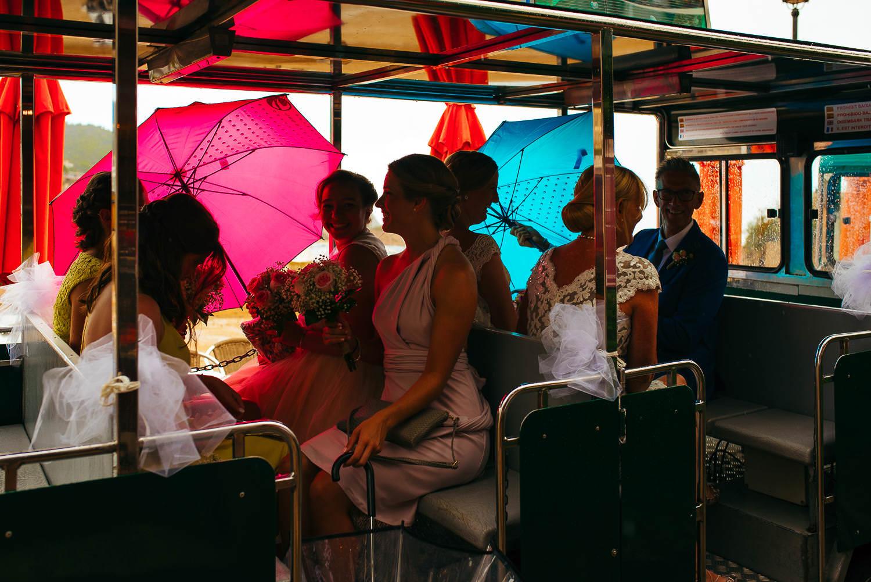 photo documentary wedding rainingfaro de tossa