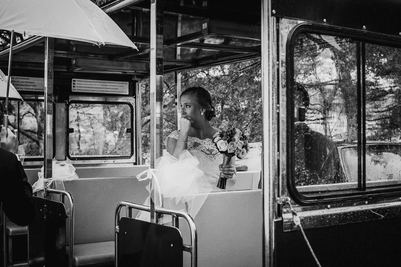 wedding faro de tossa rainy day