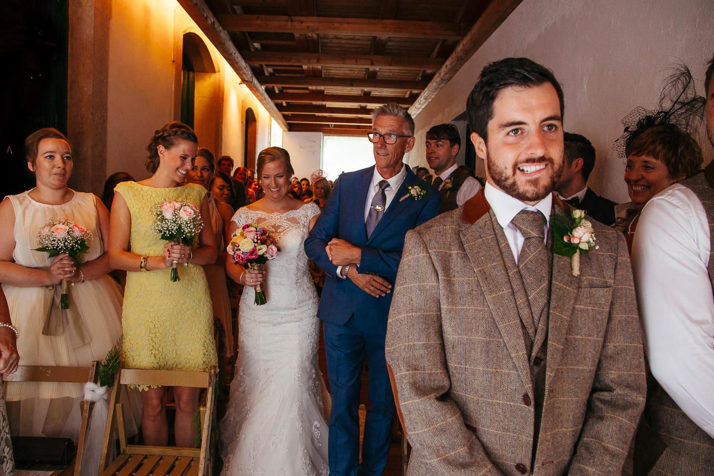faro de tossa documentary wedding photography