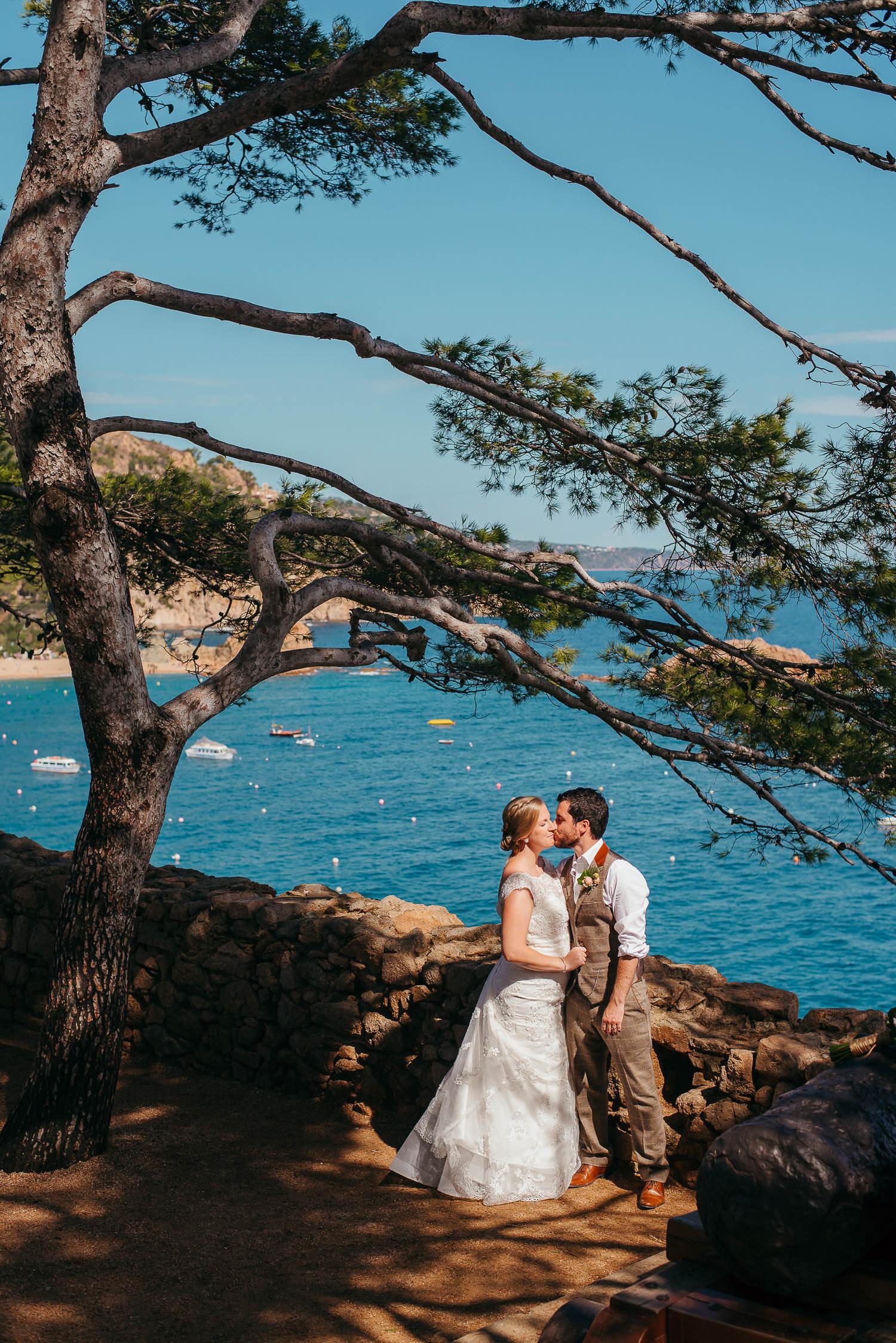 wedding far de tossa