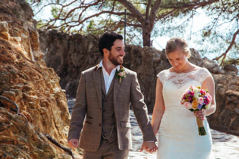 wedding photography tossa de mar