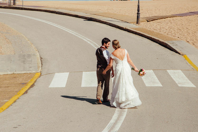 wedding reportage tossa de mar