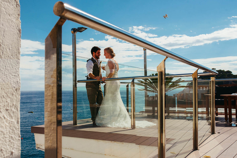 wedding reception hotel Reymar tossa de mar