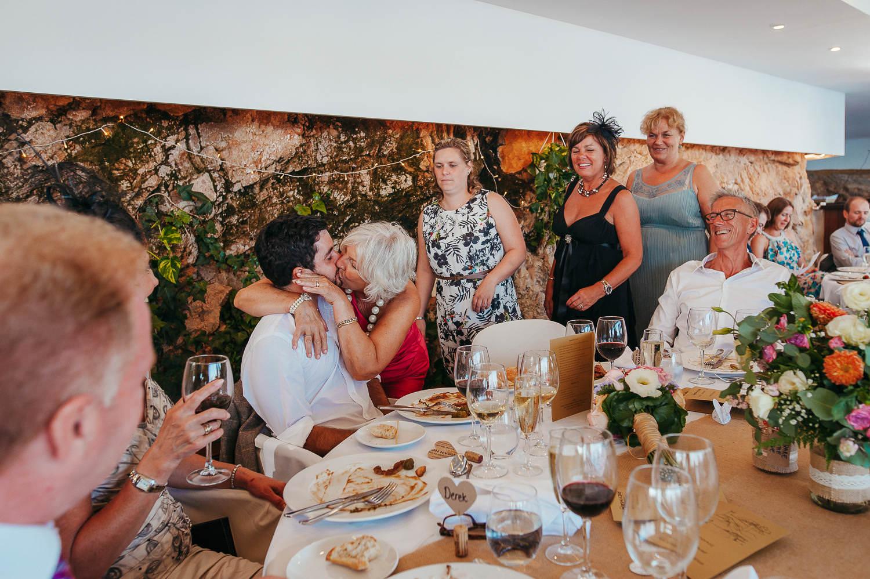 wedding party tossa de mar, crazy moments