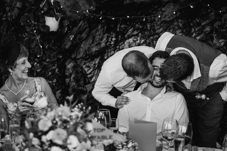 fun documentary wedding photo girona