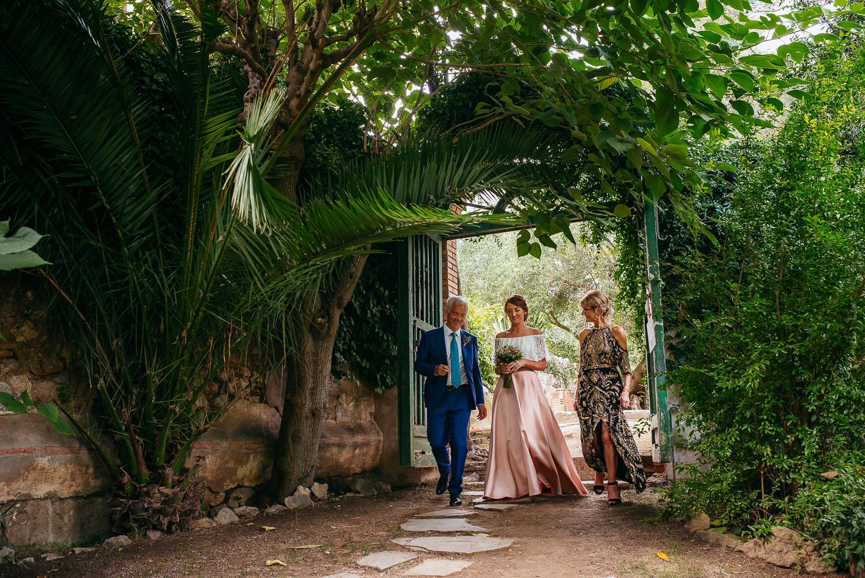 Celtic wedding photographer Barcelona, Villa Catalina
