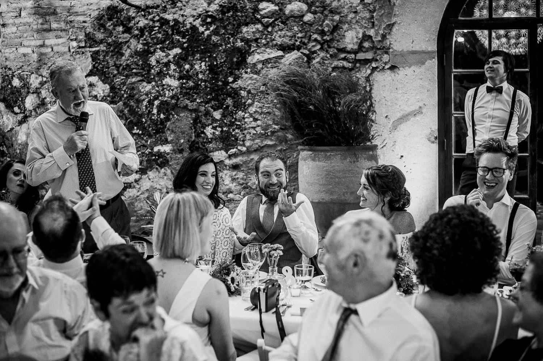 Beautiful Wedding reception Villa Catalina