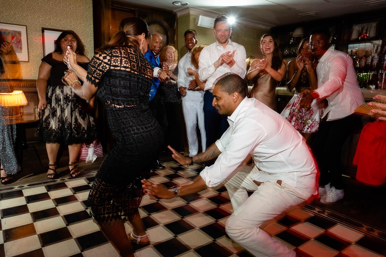 dance floor guest wedding party