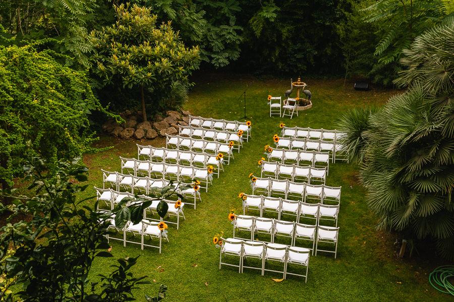 Villa Catalina perfect wedding venue near Sitges